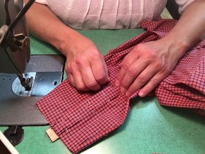 How To Shorten a Dress Shirt Sleeve