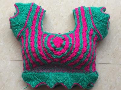 New design ladies blouse (part-1)
