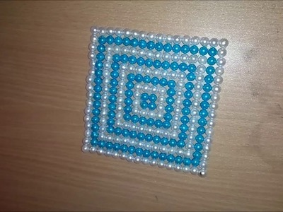 Pearl Beaded Table Mat for Dining Table # 19