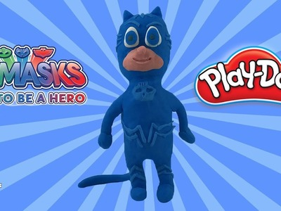 PJ MASKS CATBOY TAKES CONTROL (How to Make PJ Masks Catboy with Play Doh)