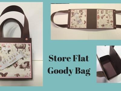 Wednesday Rewind - Fold Flat Goody Bag