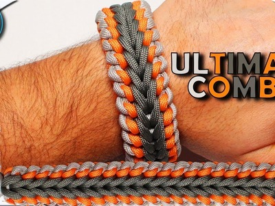 World of Paracord How to make Paracord Bracelet Sanctified and Endless Falls Ultimate Combination