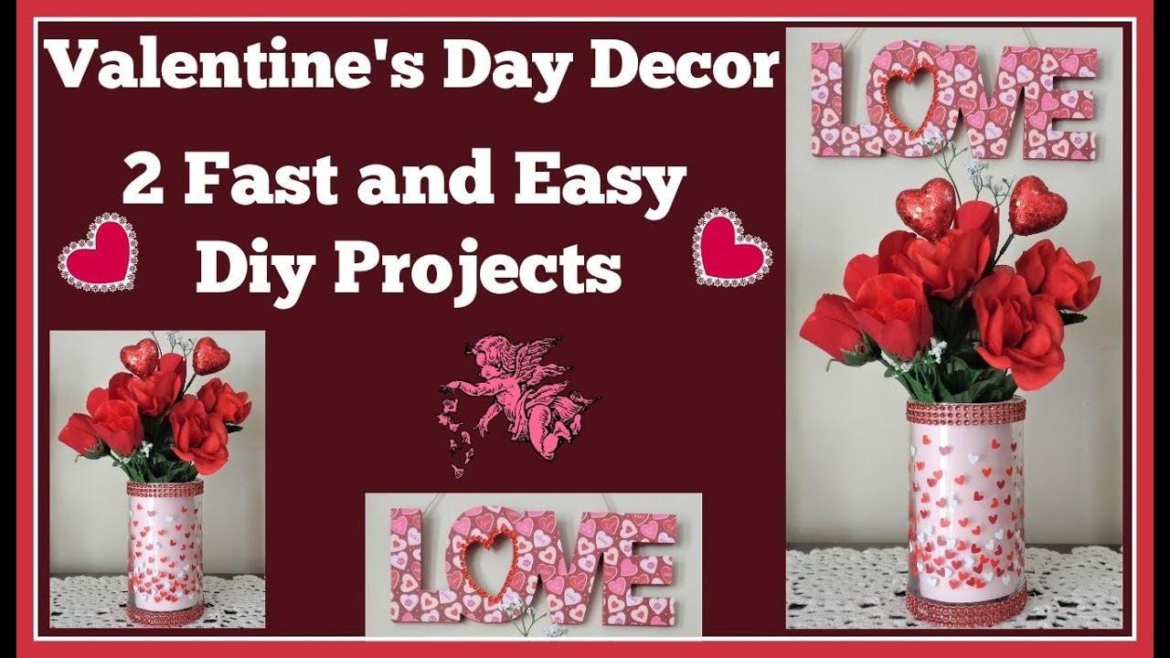 2 Valentine's Day ???? Dollar Tree Easy Diys