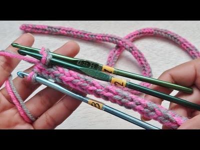 3 Crochet Hook in Making a Cord