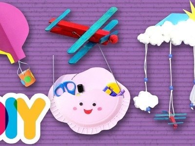 4 FUN Craft Ideas you can do with your kid ???? Fast-n-Easy | DIY Arts & Crafts for Kids