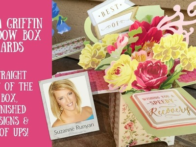 Anna Griffin Window Box Card Making Kit & My Projects plus Goof ups!