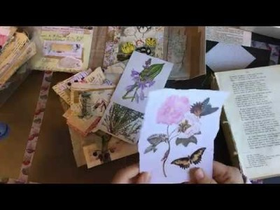 Craft with me | still envelope embellishing and an idea how to use them