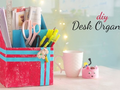 DIY Desk Organization | Desk Decor | Room Decor