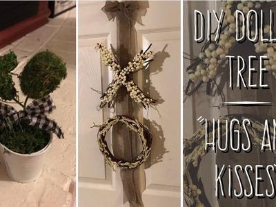 "DIY Dollar Tree Farmhouse ""Hugs And Kisses"""