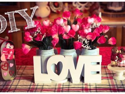 DIY Dollar Tree | Valentine's Day Centerpiece | Flower Box ????