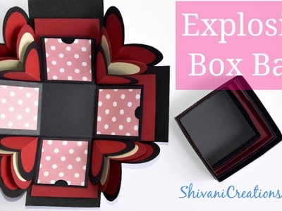 DIY Explosion Box Base. How to make Explosion Box. Valentine's Day Explosion Box Part One
