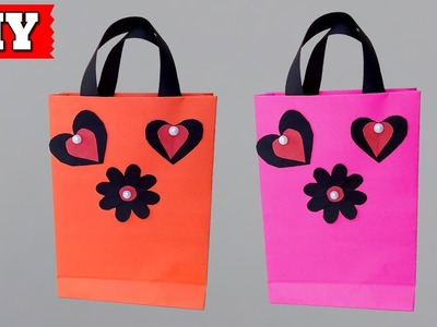 ►► DIY: How To Make Bag With Paper Easy Step By Step   Lovely Easy Crafts