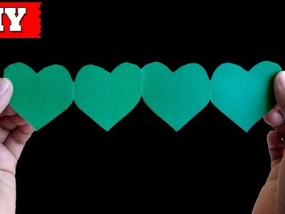 ►► DIY: How To Make Paper Heart Easy Step By Step (2)   Lovely Easy Crafts