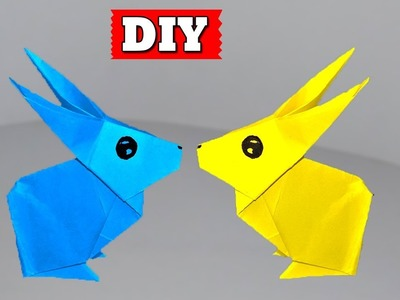 ►► DIY: How To Make Paper Rabbit Easy Step By Step   Lovely Easy Crafts