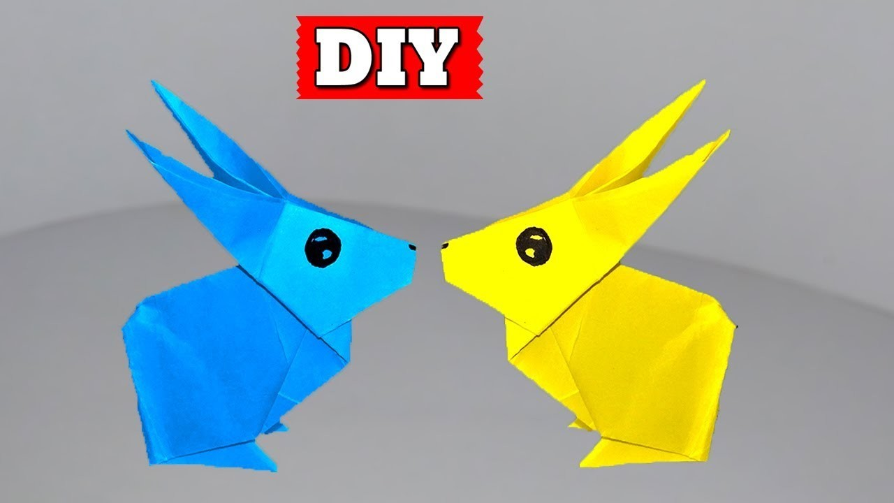►► DIY: How To Make Paper Rabbit Easy Step By Step | Lovely Easy Crafts