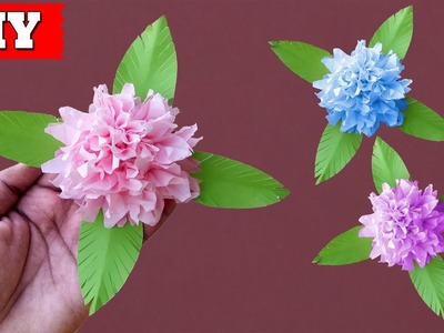 ►► DIY: How To Make Tissue Paper Flower Easy Step By Step   Lovely Easy Crafts