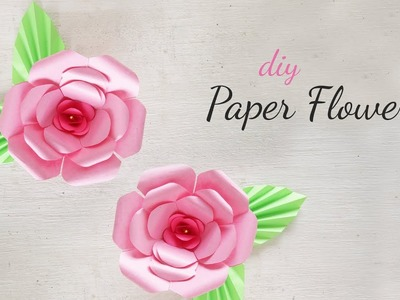 DIY Paper Flowers | DIY Flower Making | DIY Paper Flower Decorations