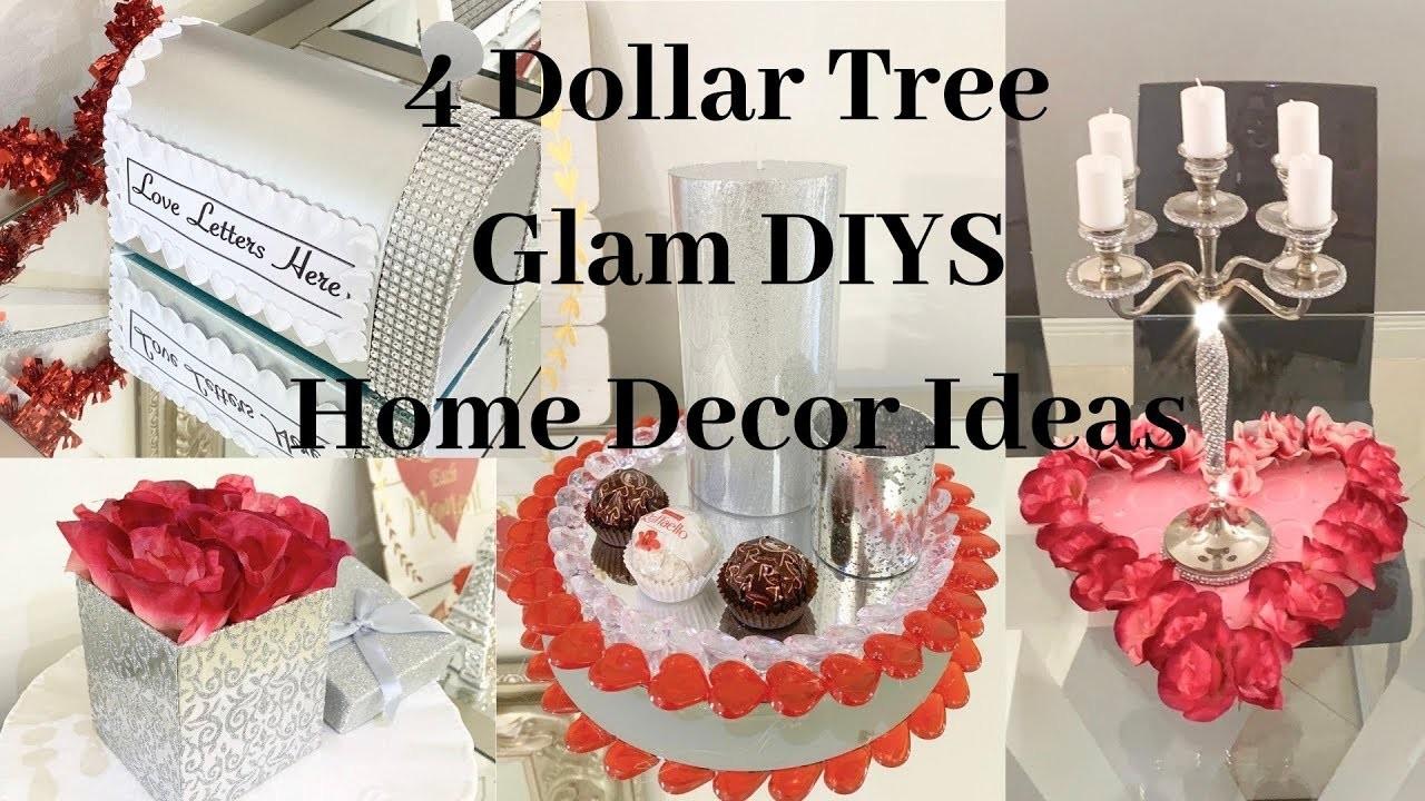 Dollar Tree 4 DIY GLAM Valentines Home Decor Ideas 2019