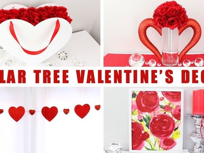 DOLLAR TREE DIY VALENTINE'S DAY DECOR | Valentine's DIY Decor Ideas