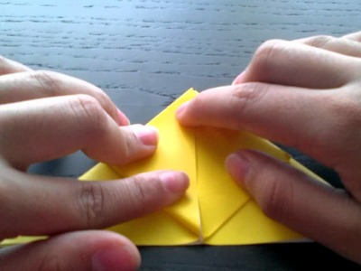 How to make a blow up origami pikichu