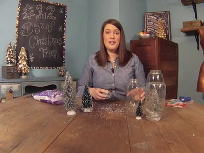 How to Make a Mason Jar Snowglobe for Christmas
