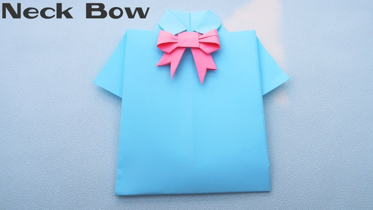 How to make a paper Bow | Origami Bow Tutorials | Paper Craft Bow Ideas