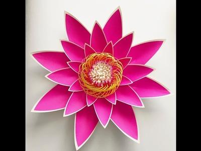 How to Make Dual Tone Petal 4 Paper Flowers