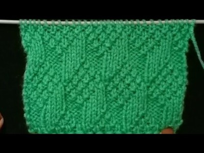 Latest Easy Knitting Design.Pattern in ||Hindi|| with (English Subtitles)