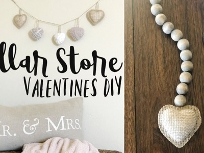 Neutral Valentine's DIY. DIY Farmhouse Decor