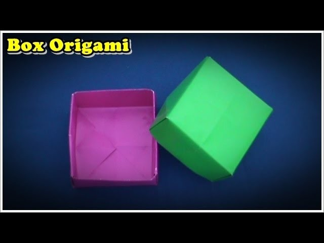 Origami Easy   How To Make Box Origami Easy
