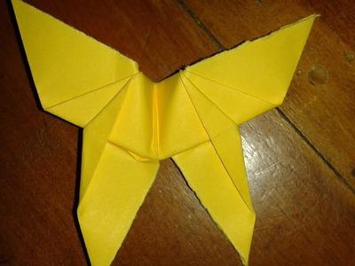 Origami: farfalla (facile)