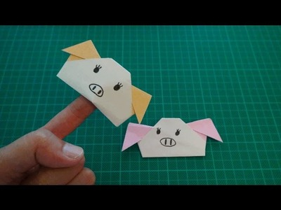 Origami for kids【pig】