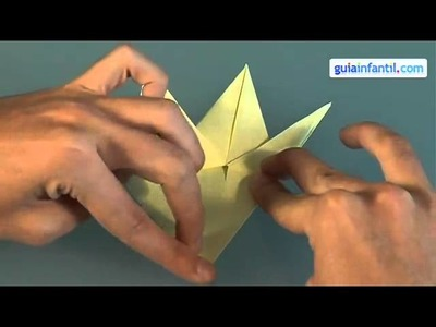 ORIGAMI HOW TO MAKE A FISH