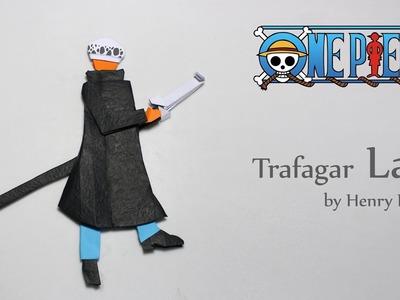 Origami One Piece characters - Trafalgar Law (Henry Phạm)