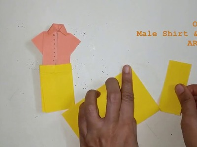 Origami Shirt with Dhoti | Origami For Kids