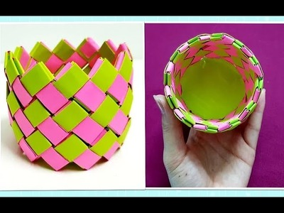 Paper Craft Ideas   DIY Origami Basket