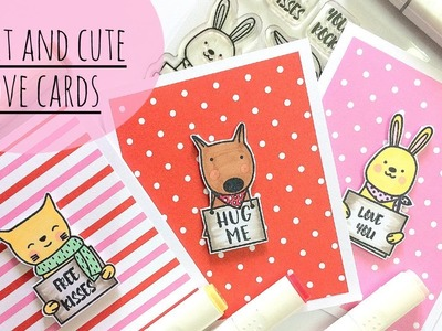 Sweet and Cute Love Cards