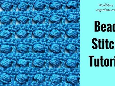 The Bead Stitch DIY Tutorial