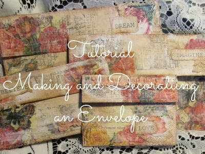 Tutorial Making and Decorating an Envelope