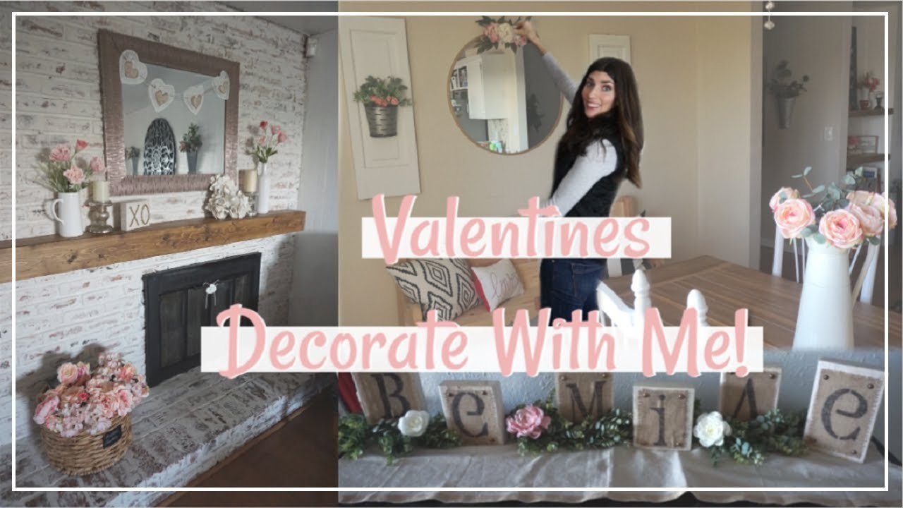 Valentines Decorate With Me   Farmhouse Decor   Momma From Scratch