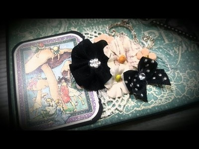 #8  Fairy Dust gatefold mini album in a box graphic 45