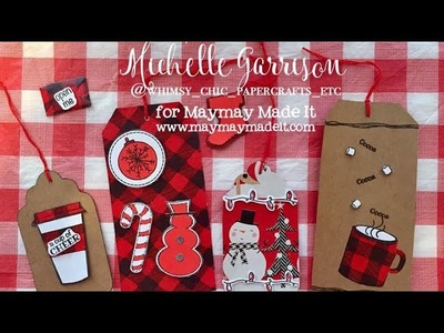 Christmas Gift Tags | MMI IG DT Project | Process Video