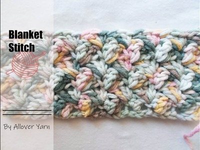 Crochet:Blanket stitch
