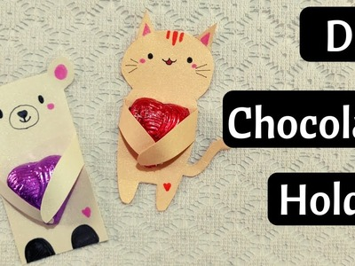 Cute Chocolate Wrapping Idea for Valentine's Day