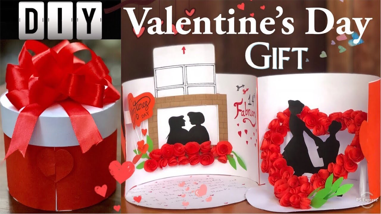 DIY Valentine's Day Gift ideas | Handmade valentine box |Sokmeng Art And Craft