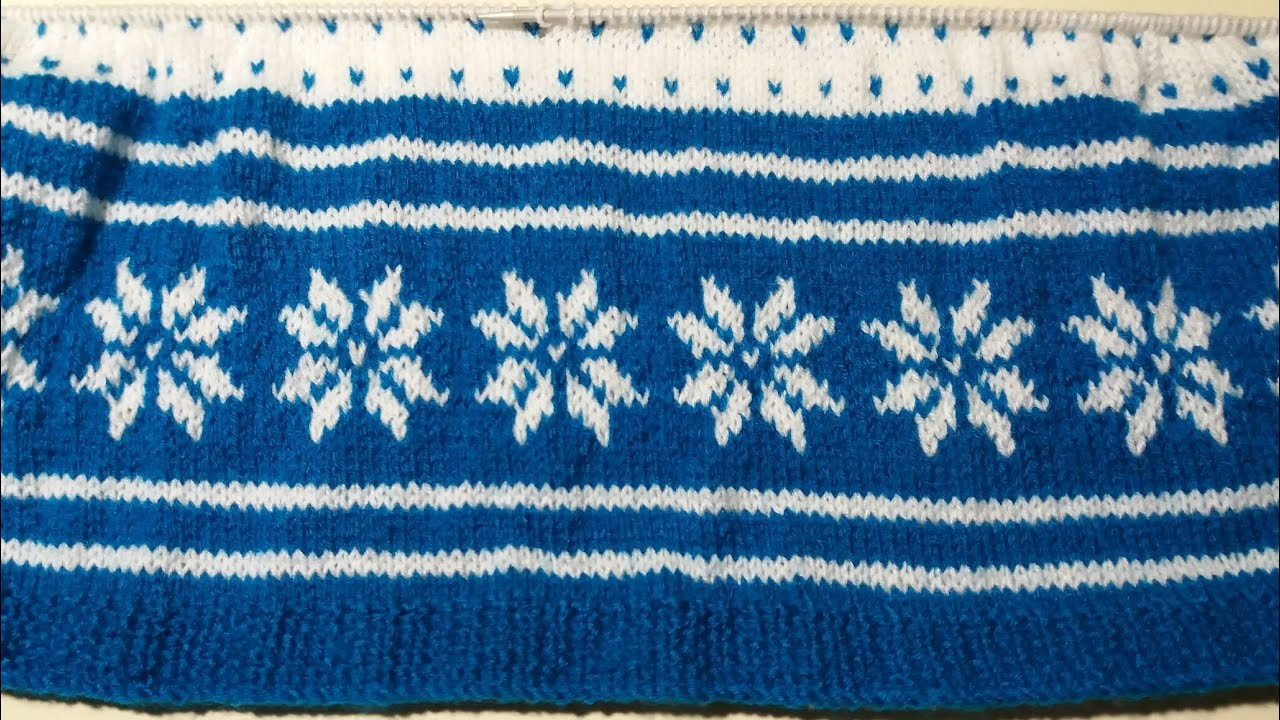 Girls frock Knitting design #- part - 1(frock for 2-3 year girls )
