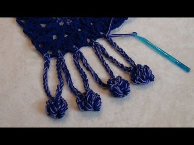 How to Crochet a Border Edging. Trim Stitch Pattern #891│by ThePatternFamily