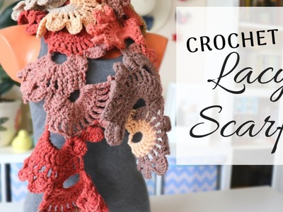 How to Crochet a Lacy Scarf