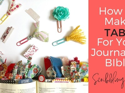 How to Make Tabs For Your Journaling Bible
