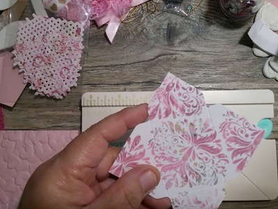 How to use the mini envelope punch board